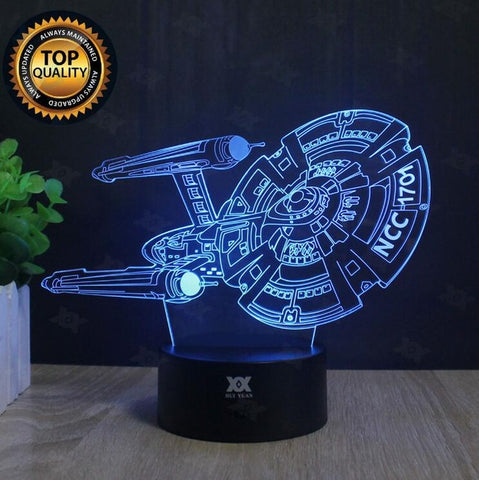 Star Wars Heroes 3D LED Lamp