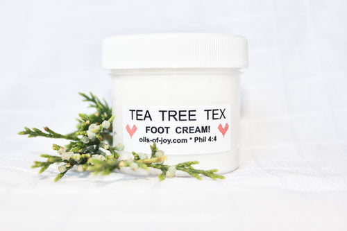 Tea Tree Tex Foot Cream