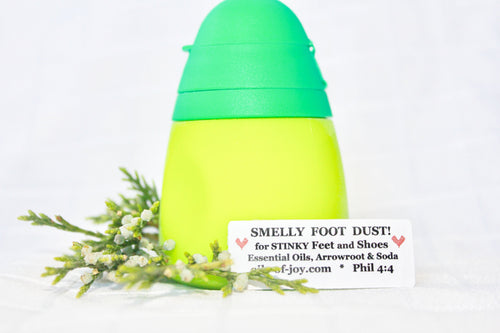 Smelly Foot Dust