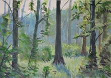 Early Morning Forest In Spring (print)