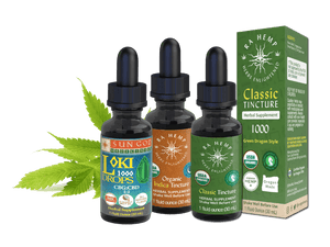 Organic Hemp Tinctures by Sun God Medicinals