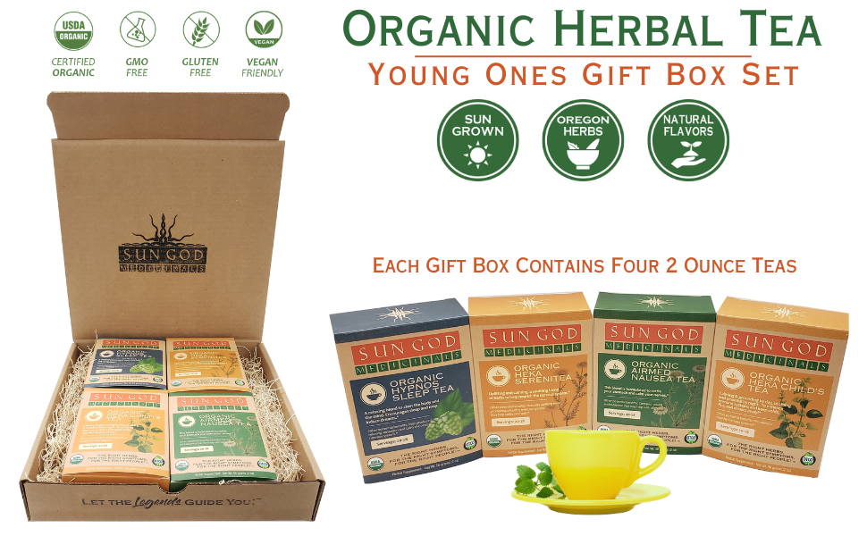 Young Ones Organic Herbal Tea Gift Box