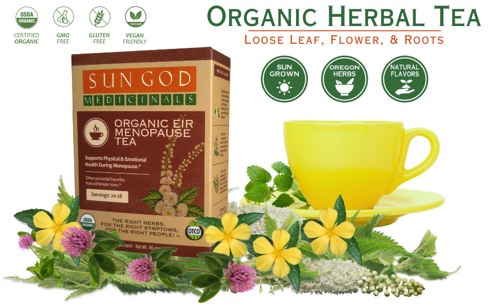 Eir Menopause Organic Herbal Tea