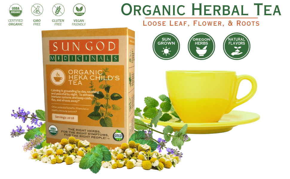 Heka Child's Organic Herbal Tea