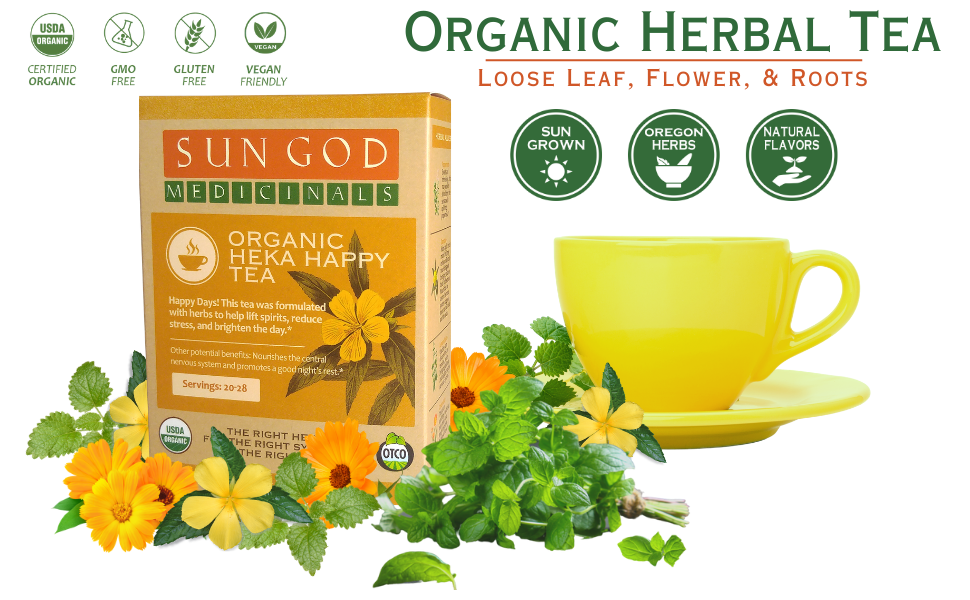 Heka Happy Organic Herbal Tea