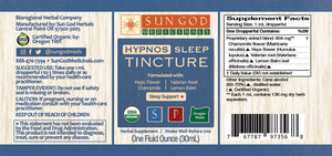 Hypnos Sleep Herbal Tincture
