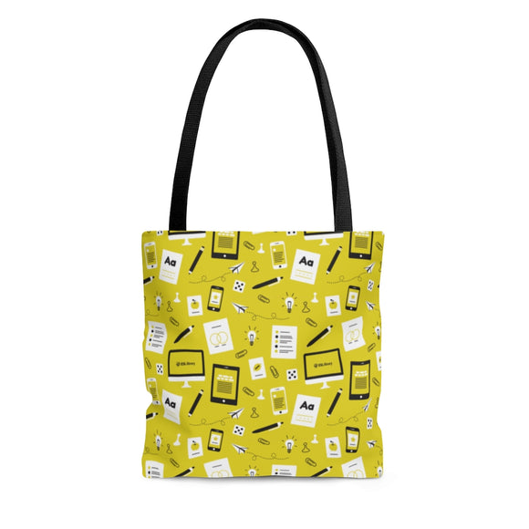 Yellow Pattern Tote Bag