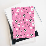 Pink Pattern Hardcover Notebook