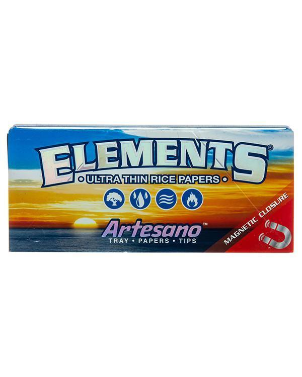 King Size Artesano Rolling Papers with Tips