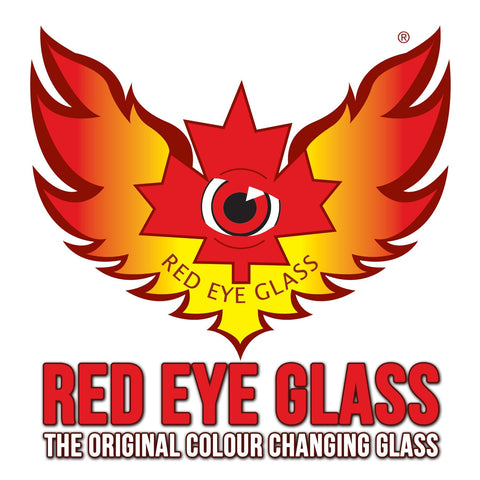 Red Eye Glass