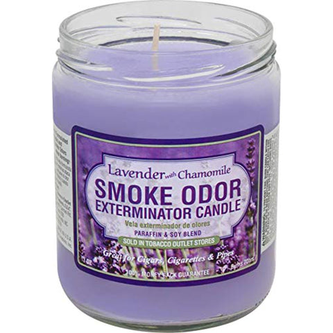 Smoke Odor Exterminator Candle Lavender with Chamomile 13oz