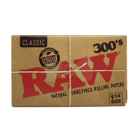 Raw Classic Unbleached 300s 1 1/4