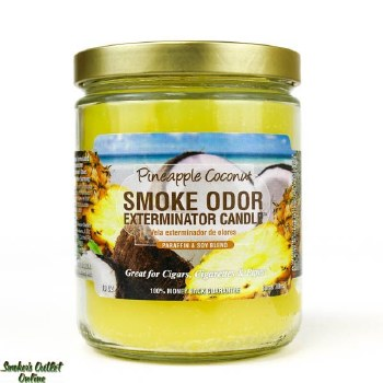 Smoke Odor Exterminator Candle Pineapple Coconut 13oz