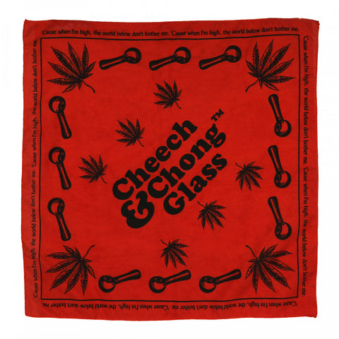 Cheech & Chong Red Bandana