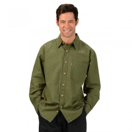 Men's Long-Sleeve 'Muslin' Shirt