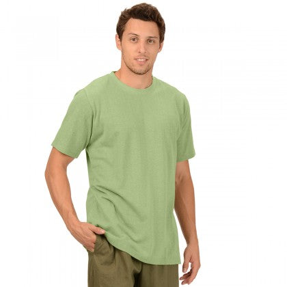 Men's Short Sleeve Hemp Shirt