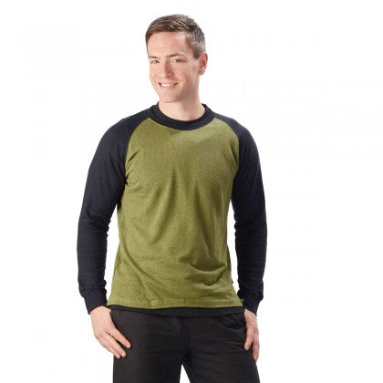 Men's Long Sleeve Baseball Top