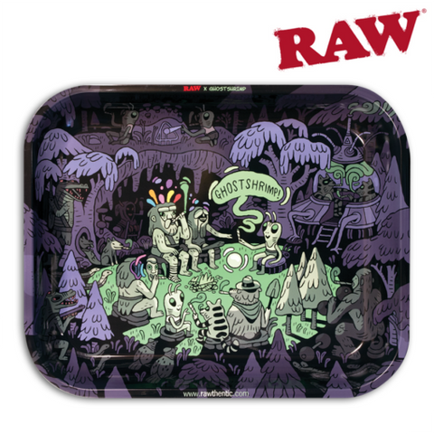RAW ROLLING TRAY – ARTIST SERIES: GHOST SHRIMP
