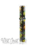 "Red Eye Glass 5"" Long Steamroller Hand Pipe"