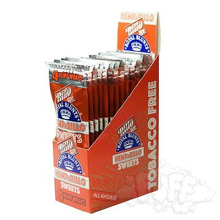 Hemparillo Tabacco-free Hemp Wraps Single Pack - Sweets