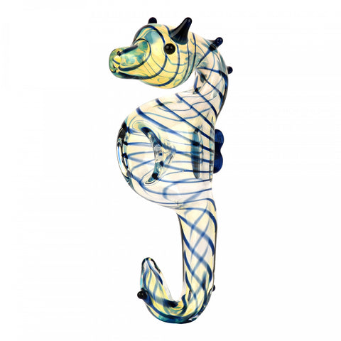 Seahorse Glass Hand Pipe