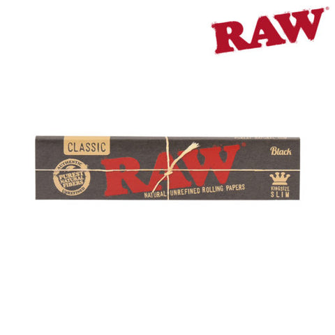 Raw Black King Size Box