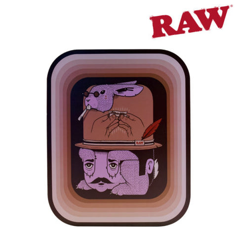 RAW ROLLING TRAY AND MAGNETIC COVER – ARTIST SERIES: JEREMY FISH