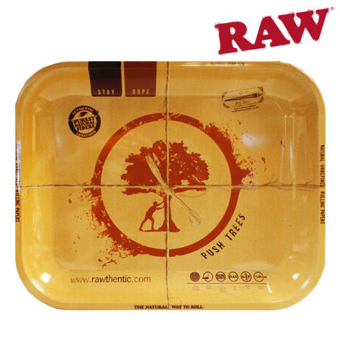 "RAW ""PUSH TREE"" ROLLING TRAY"