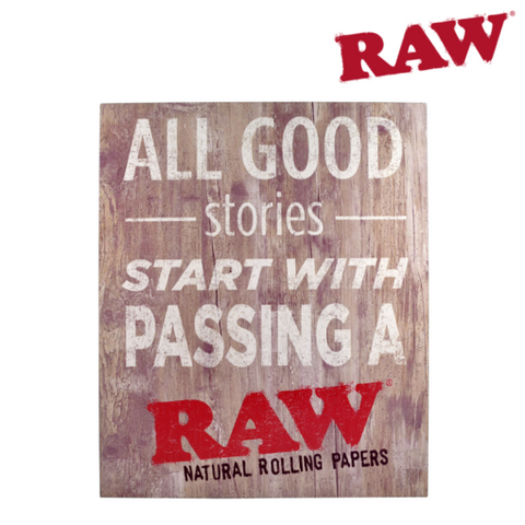 RAW WOODEN SIGNS