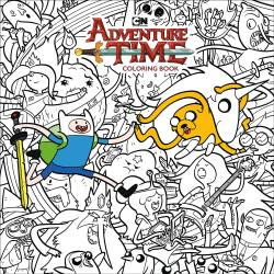 Adventure Time Adult Colouring Book Volume 1