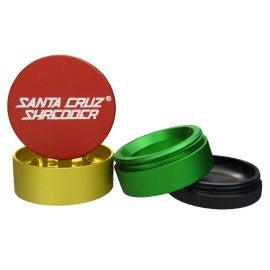Santa Cruz Shredder Small 4-Piece Pollinator 1.5""