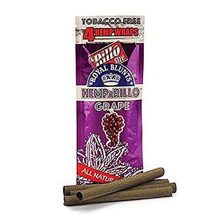 Hemparillo Tobacco-Free Hemp Wraps Single Pack – Grape.