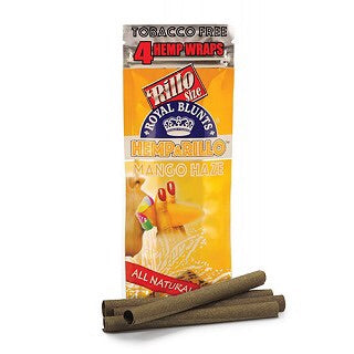 Hemparillo Tobacco-Free Hemp Wraps Single Pack – Mango.