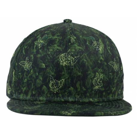 No Bad Ideas - Doja - Snapback Dark Green Print