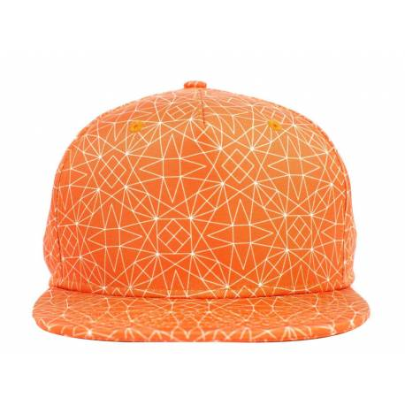 No Bad Ideas Oddities - Andromeda - SnapBack Orange