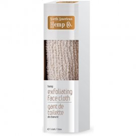 North American Hemp Co. Exfoliating Hemp Face Cloth