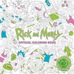 Rick and Morty Official Colouring Book