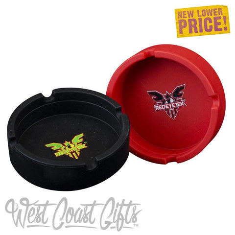 Red Eye Tek Silicon Ashtray