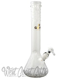 14 Inch Tall Beaker Tube With Worked Top