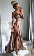 SHY SEXY SPLIT MAXI DRESS