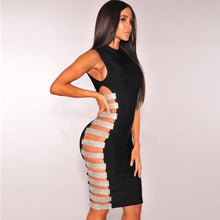 'BROOKLYN' LUXURY CUT OUT DRESS