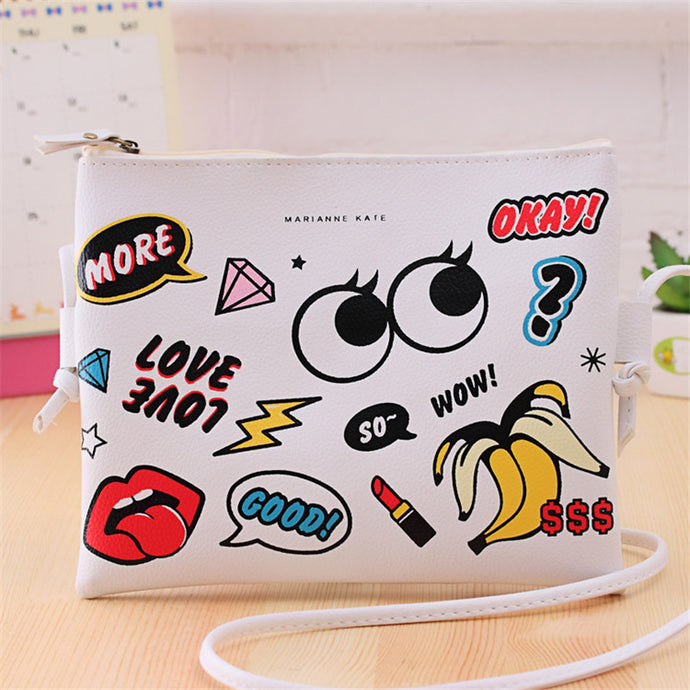 LOVE CARTOON CLUTCH