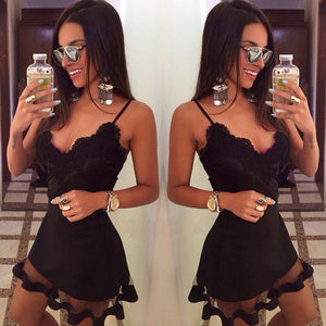 FACETIME LUXE BABYDOLL DRESS