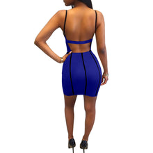 'FACTS' BRALETTE BODYCON DRESS