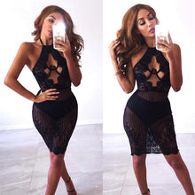 FLAUNT LACE BODYCON DRESS