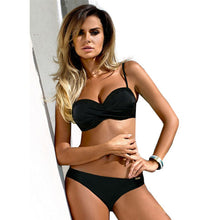 SARAH LUXURY PADDED PUSH UP SWIM SET