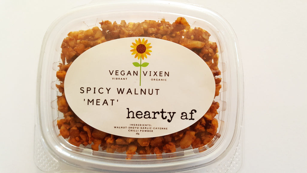 Spicy Walnut 'Meat' - hearty af