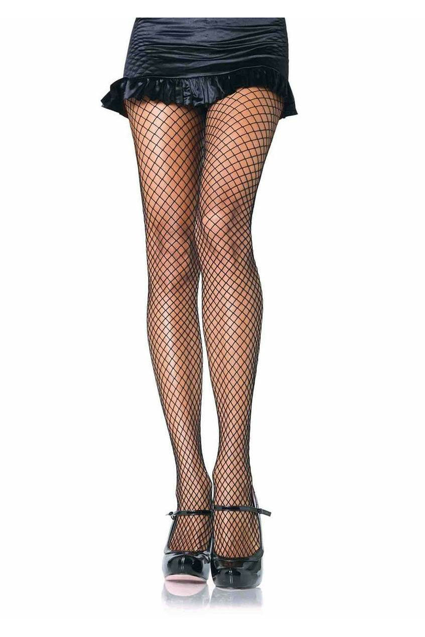 Black Industrial Net Tights