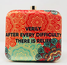 Verily after every diffculty...