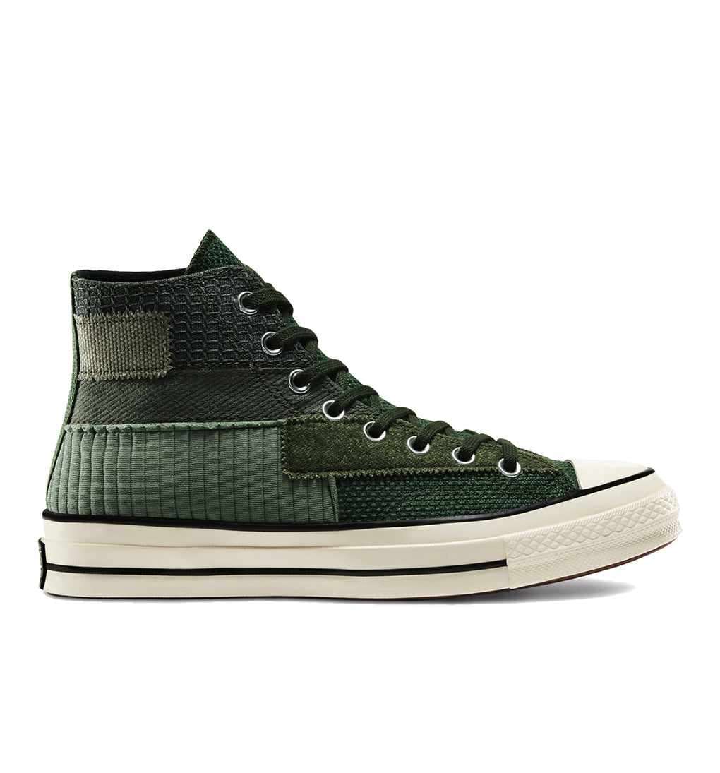 Converse Chuck 70 Hi Mono Patchwork - Forest Green
